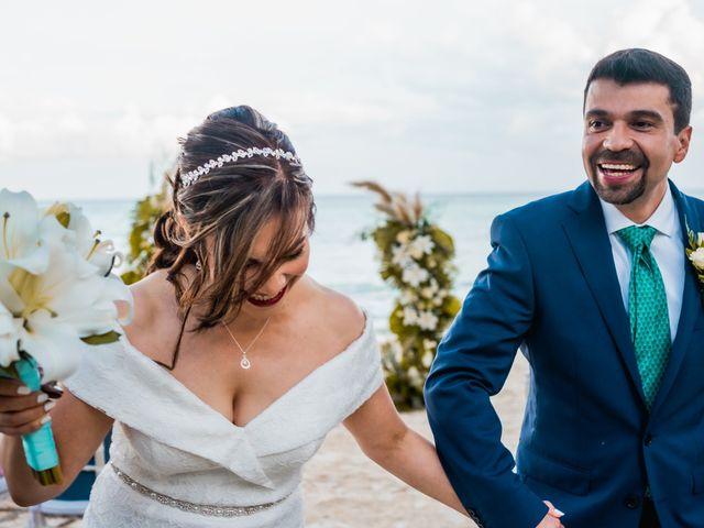 La boda de Fernando y Carmen en Playa del Carmen, Quintana Roo 56