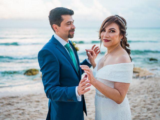 La boda de Fernando y Carmen en Playa del Carmen, Quintana Roo 59