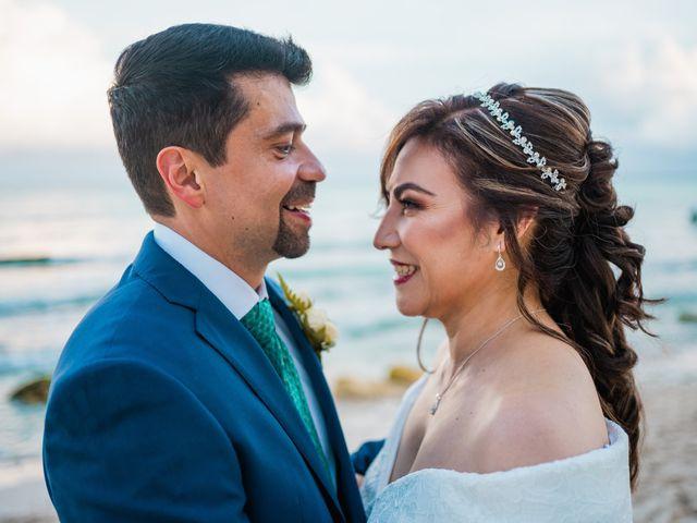 La boda de Fernando y Carmen en Playa del Carmen, Quintana Roo 1