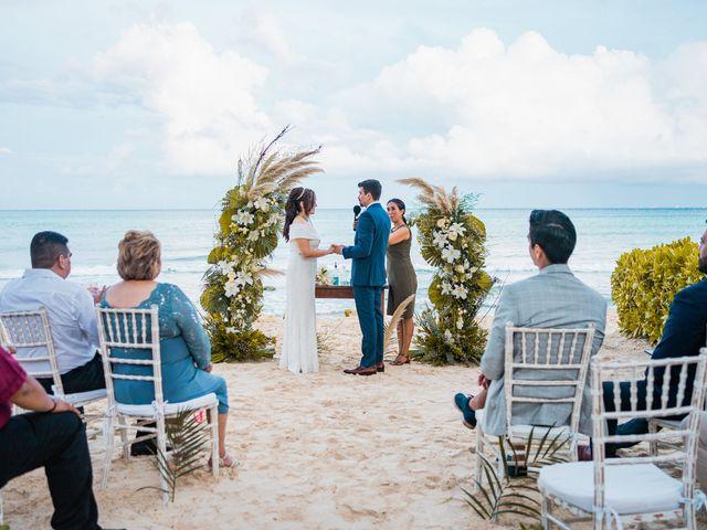 La boda de Fernando y Carmen en Playa del Carmen, Quintana Roo 83