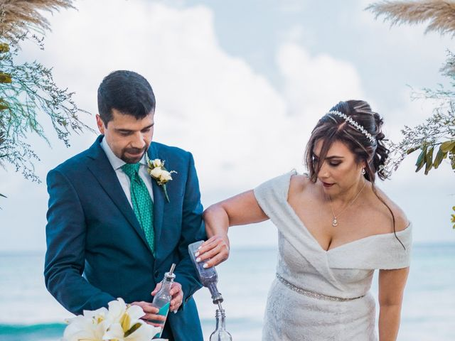 La boda de Fernando y Carmen en Playa del Carmen, Quintana Roo 89