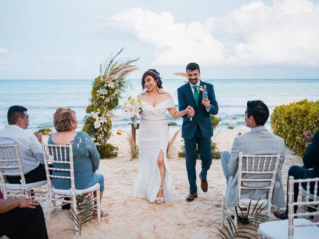 La boda de Fernando y Carmen en Playa del Carmen, Quintana Roo 93