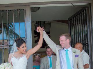 La boda de Thalia  y Scott  1