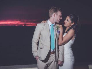La boda de Thalia  y Scott