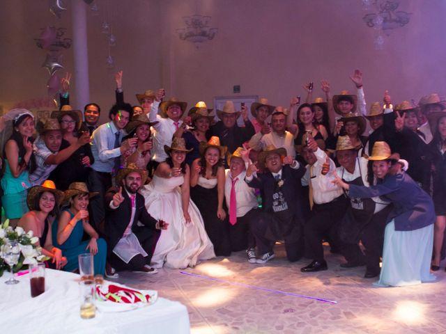 La boda de Carlos y Gissel en Ecatepec, Estado México 6