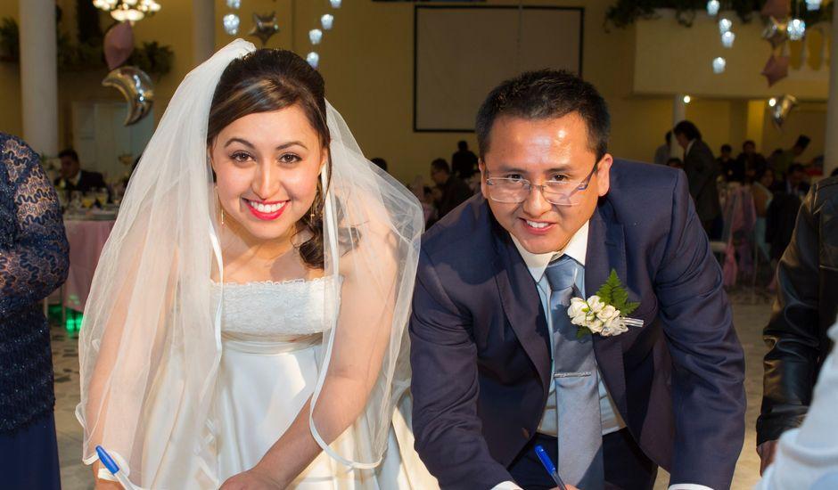 La boda de Carlos y Gissel en Ecatepec, Estado México