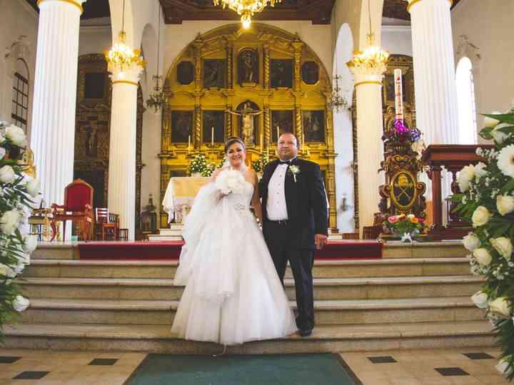 La boda de Kary y Gaspar