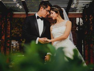La boda de Abril y Raxel