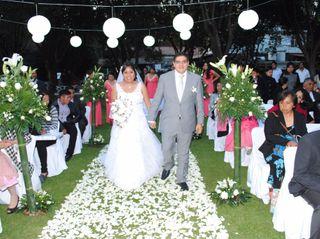 La boda de Elizabeth y Víctor Hugo