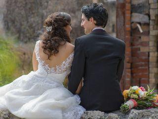 La boda de Andrea y Miguel