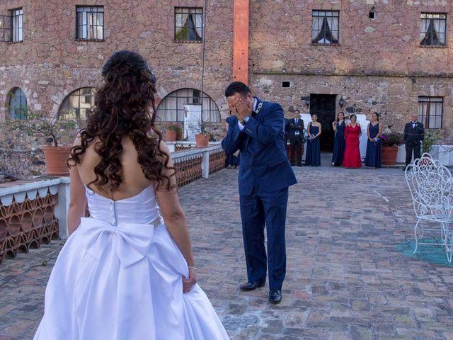 La boda de Tzulic y Denise en Taxco, Guerrero 15