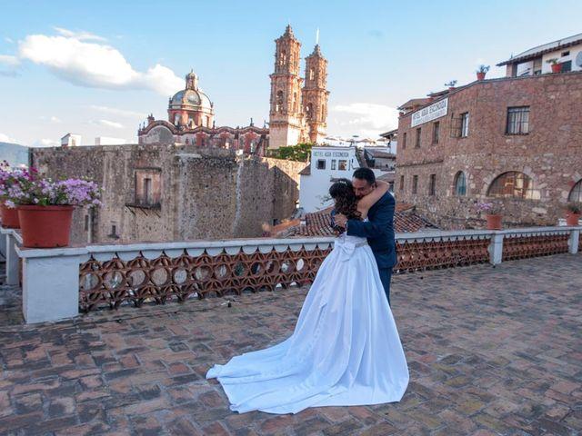 La boda de Tzulic y Denise en Taxco, Guerrero 17