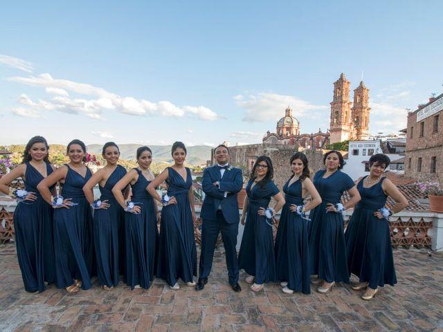 La boda de Tzulic y Denise en Taxco, Guerrero 19