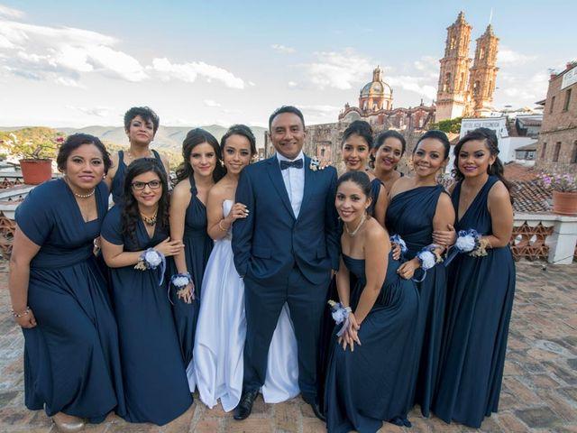 La boda de Tzulic y Denise en Taxco, Guerrero 20