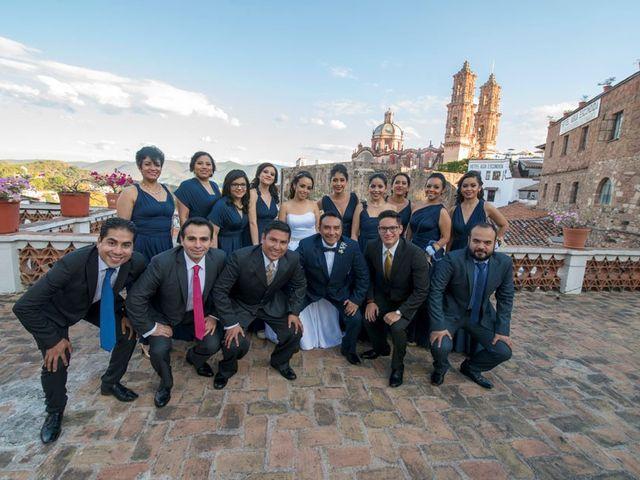 La boda de Tzulic y Denise en Taxco, Guerrero 21