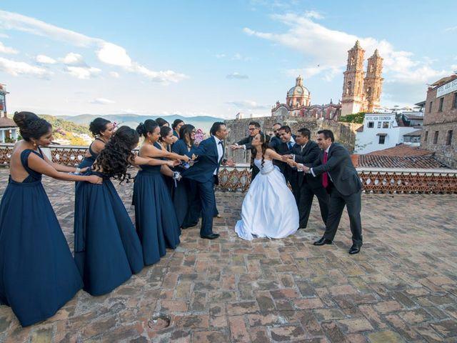La boda de Tzulic y Denise en Taxco, Guerrero 24