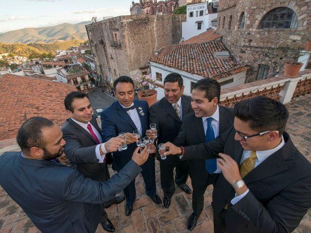 La boda de Tzulic y Denise en Taxco, Guerrero 29