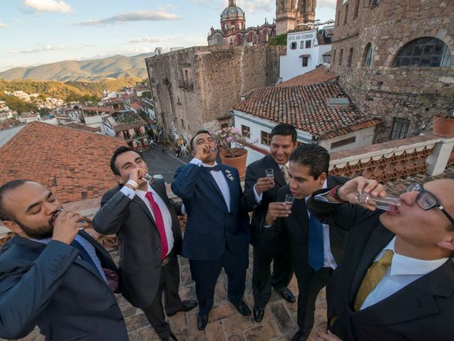La boda de Tzulic y Denise en Taxco, Guerrero 30