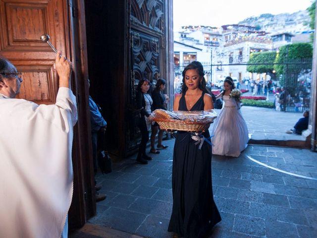 La boda de Tzulic y Denise en Taxco, Guerrero 39