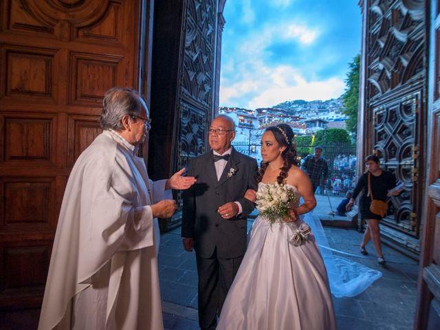 La boda de Tzulic y Denise en Taxco, Guerrero 40