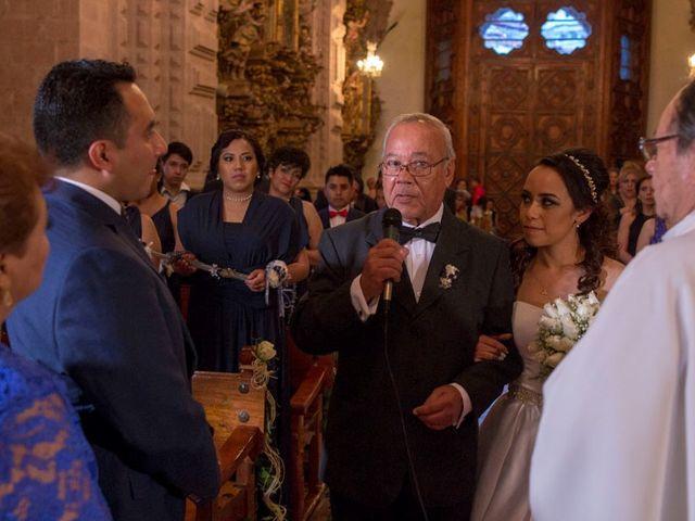 La boda de Tzulic y Denise en Taxco, Guerrero 44