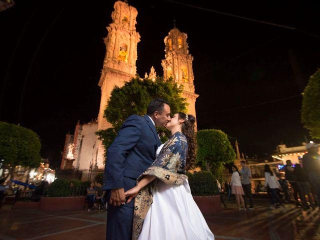 La boda de Tzulic y Denise en Taxco, Guerrero 57