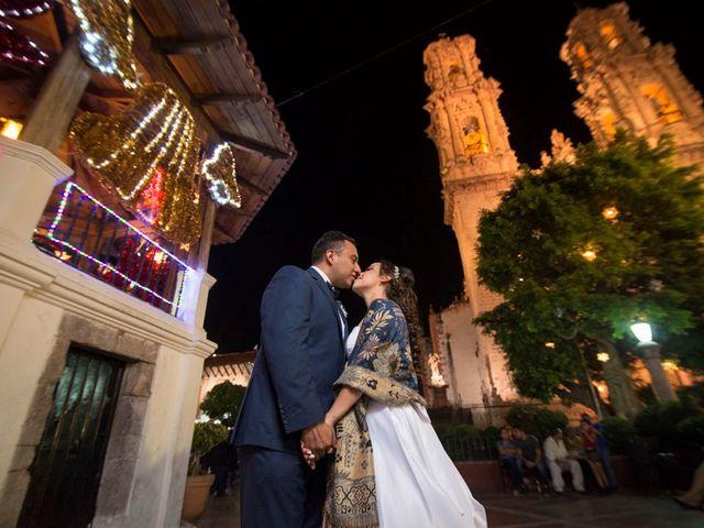 La boda de Tzulic y Denise en Taxco, Guerrero 58