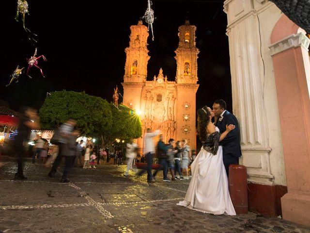 La boda de Tzulic y Denise en Taxco, Guerrero 59