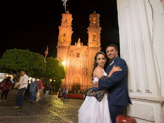 La boda de Tzulic y Denise en Taxco, Guerrero 60