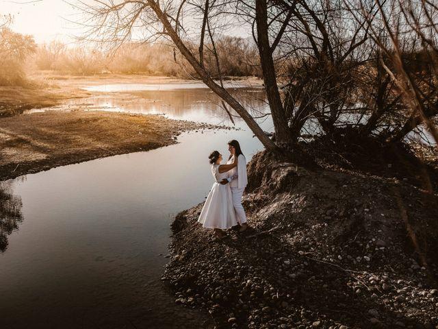 La boda de Cynthia y Lluvia