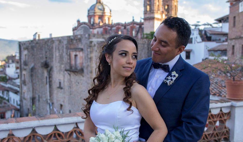 La boda de Tzulic y Denise en Taxco, Guerrero