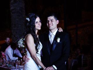 La boda de Valeria y Abraham