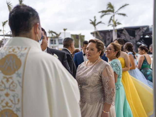 La boda de Jesús y Karina en Cancún, Quintana Roo 58