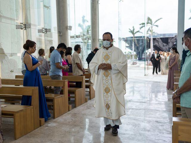 La boda de Jesús y Karina en Cancún, Quintana Roo 61