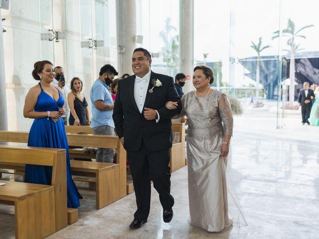 La boda de Jesús y Karina en Cancún, Quintana Roo 62