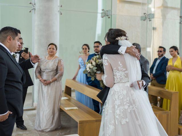 La boda de Jesús y Karina en Cancún, Quintana Roo 64