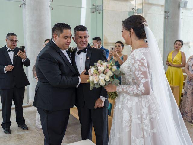 La boda de Jesús y Karina en Cancún, Quintana Roo 65