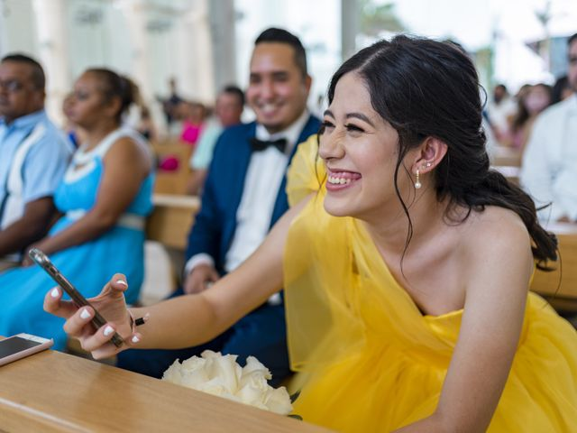 La boda de Jesús y Karina en Cancún, Quintana Roo 72