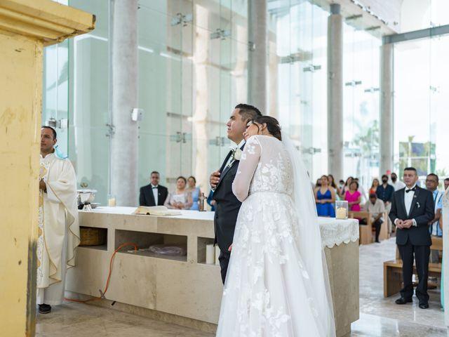 La boda de Jesús y Karina en Cancún, Quintana Roo 75