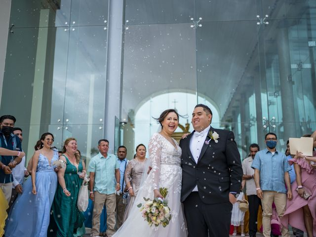 La boda de Jesús y Karina en Cancún, Quintana Roo 1
