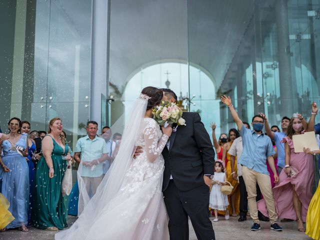 La boda de Jesús y Karina en Cancún, Quintana Roo 78