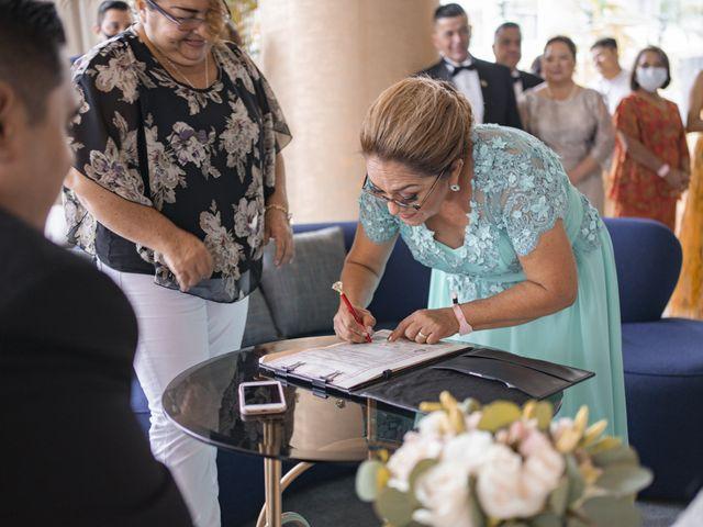 La boda de Jesús y Karina en Cancún, Quintana Roo 93
