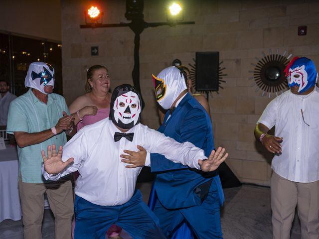 La boda de Jesús y Karina en Cancún, Quintana Roo 128