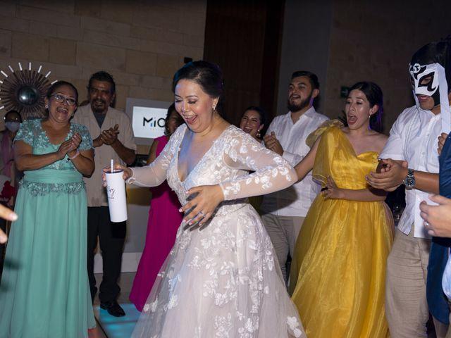 La boda de Jesús y Karina en Cancún, Quintana Roo 130