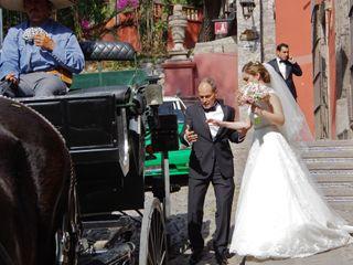 La boda de Belem y Santiago 1