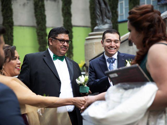 La boda de Marco y Ivonne en Cuauhtémoc, Ciudad de México 7