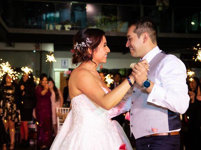 La boda de Marco y Ivonne en Cuauhtémoc, Ciudad de México 33