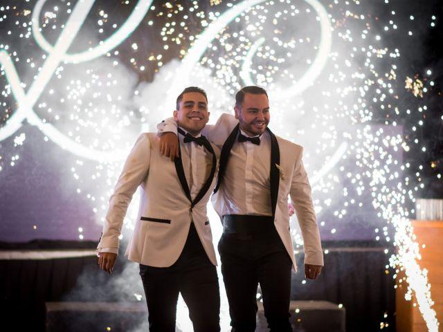 La boda de Luis Fco y Cesar