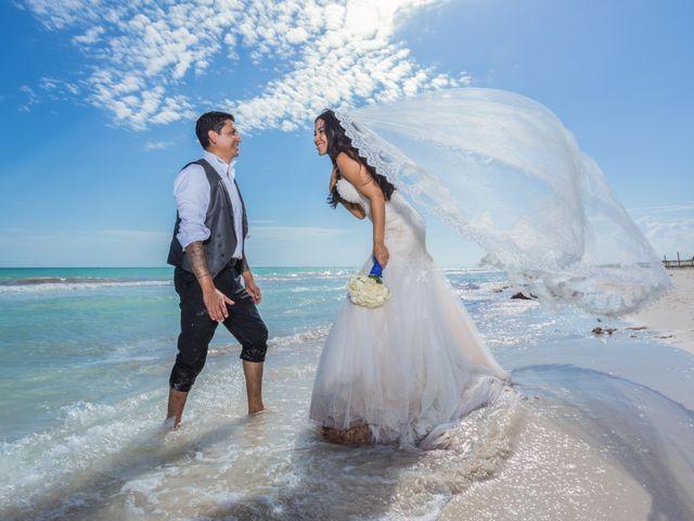La boda de Adriana y Gerson