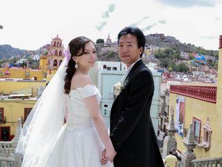 La boda de Sara y Hideaki
